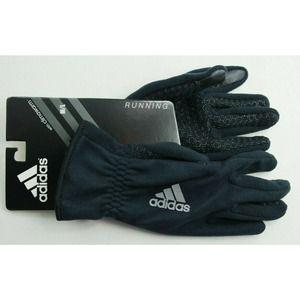 adidas Men's Gloves Black M/L Running Reflective